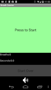 Breath Counter 3.0 - screenshot