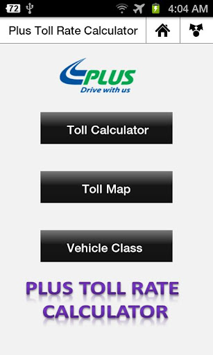plus-toll-rate-calculator for android screenshot