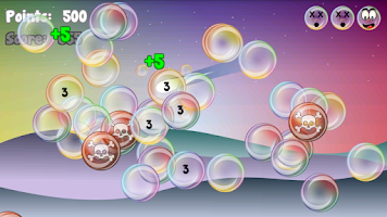 Screenshot of Bubble Tap