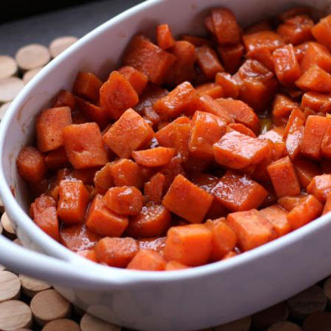 Brown Sugar Candied Sweet Potatoes