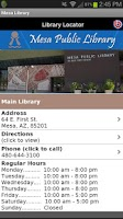 Screenshot of Mesa Library