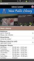 Screenshot of Mesa Library