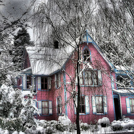 The Pink House ...Havre de Grace MD. by Ben Michalski - Buildings & Architecture Other Exteriors ( hav re de grace md. )