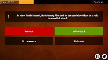 Screenshot of Trivia: Quiz Burner