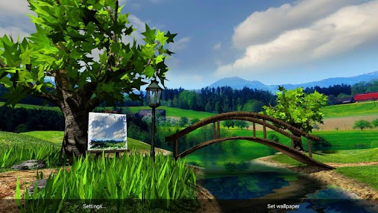 Parallax nature summer day 3d gyro wallpaper apk for - Nature wallpaper apk ...