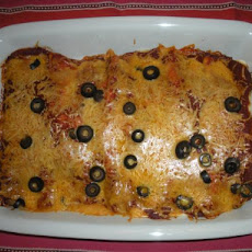 Yummy Turkey Enchiladas
