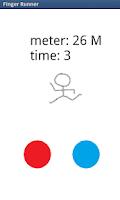 Screenshot of Finger Runner
