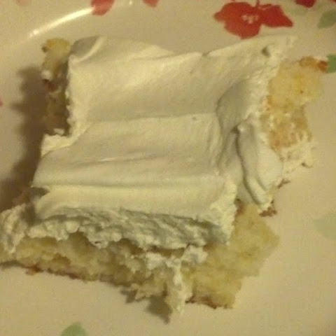 Angel Food Cake With Crushed Pineapples Recipe