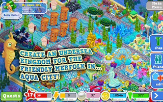 Screenshot of Aqua City: Fish Empires