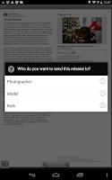 Screenshot of Easy Release - Model Releases
