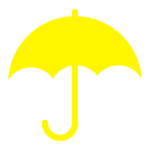 under my umbrella clip art