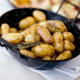 Garlicky Fondant Potatoes