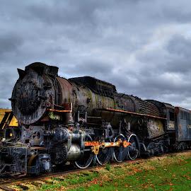 by Stan Tharp - Transportation Trains