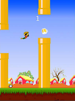 Screenshot of Flappy Raminhos