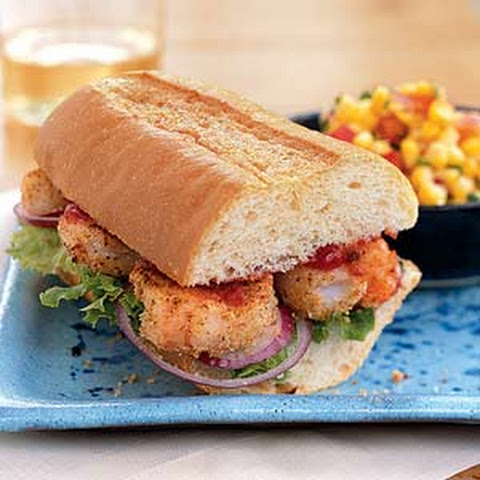 Shrimp Po'boy with Spicy Ketchup