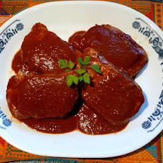 Pork Chops With Mole Sauce (Ww)