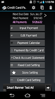 Screenshot of Credit Card Payment Checker