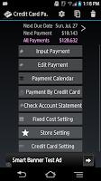 Screenshot of Credit Card Payment Checker