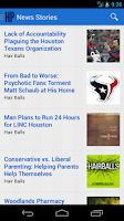 Screenshot of Houston Press
