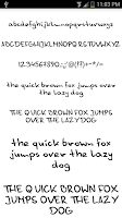 Screenshot of Fonts for FlipFont #14