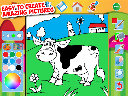 Game My Great Big Coloring Book App APK For Windows Phone