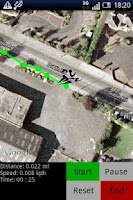 Screenshot of Joggers MapApp