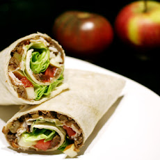 Lentil, Turkey, & Apple Wraps