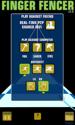 Finger Fencer - screenshot