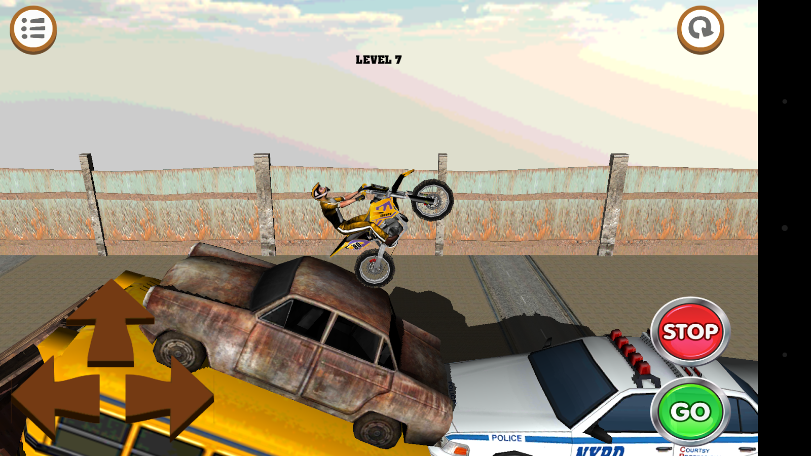 3D Motocross Bike: Industrial Screenshot 1