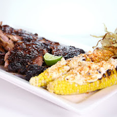 Honey-Chipotle Ribs and Crazy Street Corn