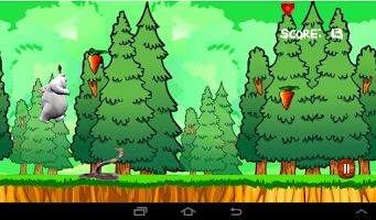 Screenshot of Honey Bunny Run
