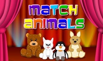 Screenshot of Cute animals match 3 game
