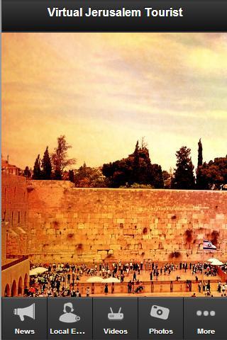 Jerusalem Tourist