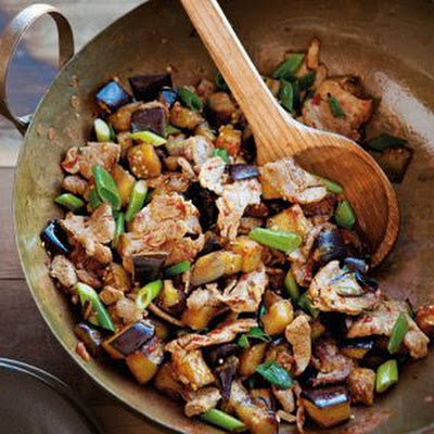 Spicy Pork and Eggplant Stir-Fry