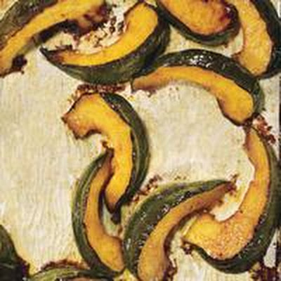 Spiced Squash with Brown Butter Glaze