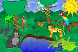Screenshot of Animals for Toddlers