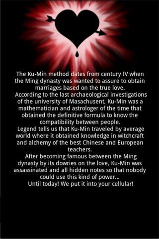 Ku-Min Method of Love