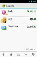 Screenshot of Cash Droid Pro