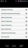 Screenshot of Live Tv App