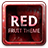Red Fruit Theme GO Launcher mobile app icon