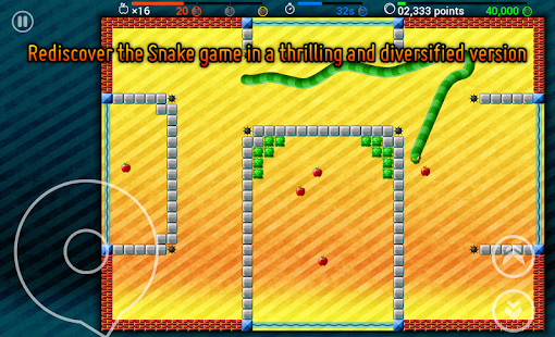 Snaky 360 - Rewind Snake Game - screenshot
