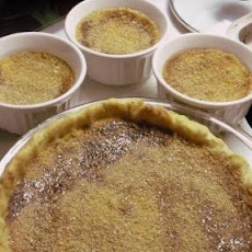Egg Custard Pie