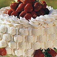 Strawberry Basket Cake