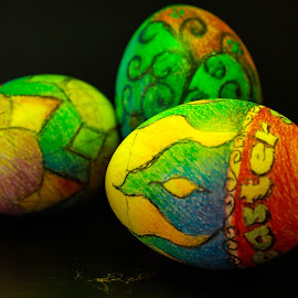 Easter eggs by Santy Uriarte - Artistic Objects Other Objects
