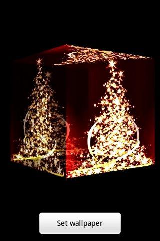 3D クリスマスツリー1