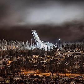 Holmenkollen ski jump by Per Ove Haddal - Buildings & Architecture Other Exteriors ( oslo holmenkollen norway )