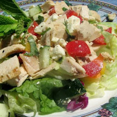 Chicken Salad With Mint and Feta