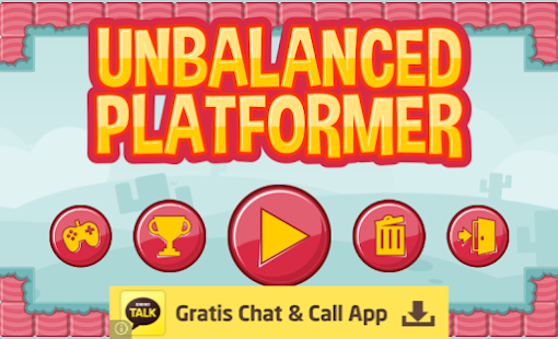 Unbalanced Platformer- screenshot thumbnail