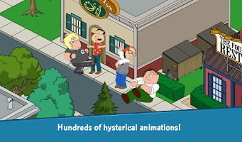 Screenshot of Family Guy The Quest for Stuff