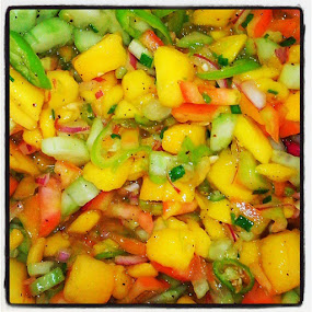 Mango Salsa by Anjsh Lacanlale - Food & Drink Fruits & Vegetables